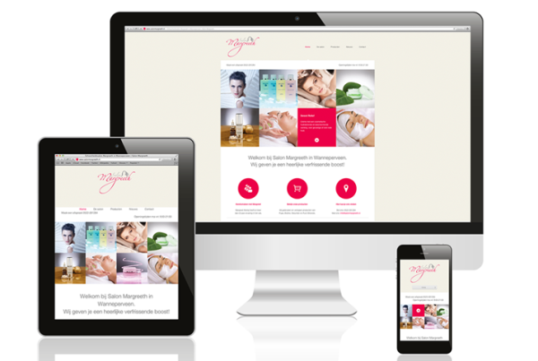 Webdesign Salon Margreeth