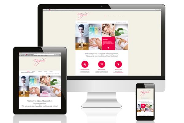 Webdesign Salon Margreeth