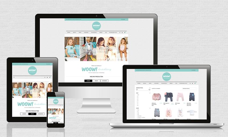 Kinderkleding Webshop.Logo En Webshop Woow Kinderkleding